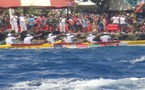Hawaii Ki Nui Va'a : la 1ère étape remportée par SHELL