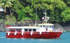 Marquises: un navire en renfort pour assurer les rotations inter-îles