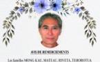 Avis de remerciements Famille MOO KAU - MONG KAU