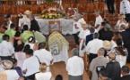 L'adieu au tavana Rony Tumahai