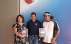 TNS: les heureux gagnants du jeu concours repartent avec un IPAD flambant neuf!