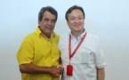 Fritch rencontre le vice-ministre japonais des Affaires étrangères