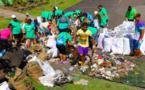 Plus de 10 m3 de déchets récoltés à Paea