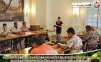 Tearii Alpha fait le point sur le foncier en Polyénsie française