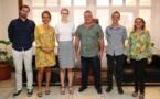 Le ministre de la Culture s'entretient  avec la consule générale adjointe de Nouvelle-Zélande