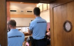 Un an de prison ferme pour un vol chez le patron de la gendarmerie