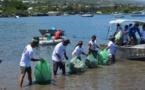 EN BREF - l'AS Tefana organise un nettoyage de la baie de Vaitupa