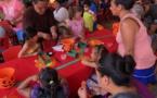 La fête du potiron a attiré les foules ce week-end
