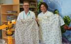 Des blouses médicales rigolotes made in Tatutu