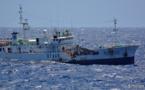 A la chasse aux pêcheurs illégaux à bord d'un bateau de guerre