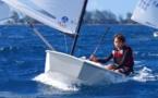 Voile - Championnat de Tahiti d'optimist : Première victoire en série A pour Elohim Bouregba-Vitrac