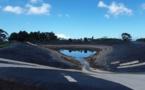 Les réservoirs d'eau de Saint-Hilaire à sec