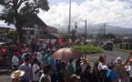 Projet de porcherie à Taravao : plus de 300 personnes ont marché samedi