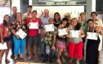 Neuf infirmiers diplômés en soins de santé primaire insulaire