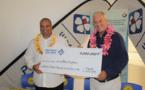 La Pacifique des Jeux soutient la Fédération d'entraide polynésienne de sauvetage en mer