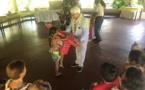 Les enfants du centre Te aho nui fêtent leur 13e Noël du coeur