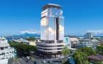 Le Bounty Hotel, un immeuble de 17 étages au cœur de Papeete