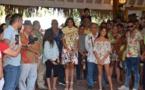 Vaimalama Chaves à la rencontre des habitants de Faa'a