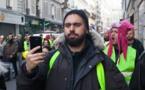 """Le """"gilet jaune"""" Eric Drouet arrêté près des Champs-Elysées"""