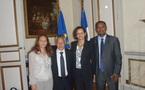 Gaston Tong Sang rencontre Marie-Luce Penchard à Paris