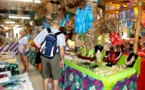 Pe'ape'a au centre artisanal de Bora Bora