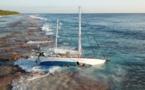 Le Bougainville porte secours à un voilier au Kiribati