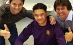 Football - Terai Brémond :  Le Tahitien a signé un contrat de stagiaire pro au TFC