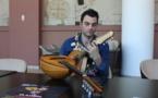 Flavien Soyer, mandoliniste, invité par Musique en Polynésie