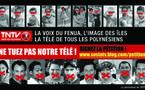 """Les salariés de TNTV se cotisent pour une campagne de pub: """"Ne tuez pas notre télé!"""""""