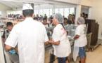 Collège Tinomana Ebb : un repas gastronomique pour un abri