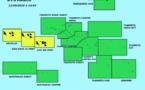 Vigilance jaune pour fortes pluies et orages sur l'archipel de la Société