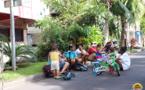 Les familles et les jeunes investissent le front de mer