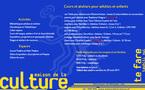 Ateliers pour enfants, adultes et matahiapo à la maison de la culture: le programme