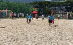 Tōta tour'noi de beachsoccer : un superbe événement !