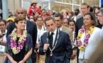 Sarkozy ouvre les XIVe Jeux du Pacifique. La Polynésie défile derrière le drapeau tricolore