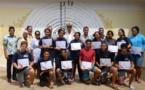 Raiatea : 20 collégiens de Faaroa deviennent des cadets de la sécurité civile