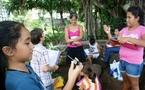 Les élèves de 6ème de la Mennais ont visité l'Assemblée de Polynésie française