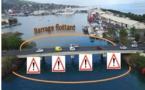 La circulation maritime sous le pont de Motu Uta interdite du 8 au 23 avril