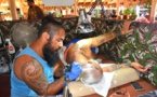 Le festival du tatouage bat son plein à Faa'a