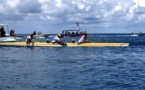Rairoa Nui Va'a Toru: Shell Va'a marque son territoire