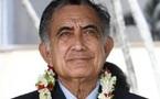 Oscar Temaru veut soumettre la décolonisation de la Polynésie à l'ONU
