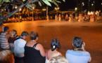 Un spectacle gratuit à Vaiete à chaque bateau de croisière en escale le soir
