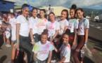 Course à pied – Color fun Run : Les candidates à Miss Tahiti étaient de la partie