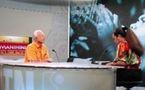 Le sénateur Gaston Flosse sera l'invité de Manihi sur TNTV dimanche à 17h30