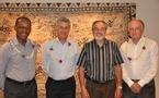 M. Nicolas  DE SEZE, directeur de l'IEOM en visite en Polynésie française