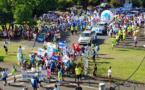 Plus d'un millier de grévistes dans les rues de Papeete ce jeudi