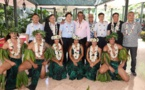 Une délégation des autorités de la ville de Jiangyin à Tahiti