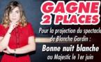 Jeu du 23 au 28 mai : Bonne nuit blanche de Blanche Gardin