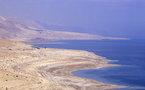 La mer Morte, menacée de disparition et victime du conflit du Proche-Orient