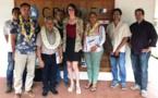 Une plateforme environnementale pour surveiller le récif corallien de Bora Bora